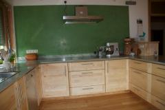 Einbauküche in Esche